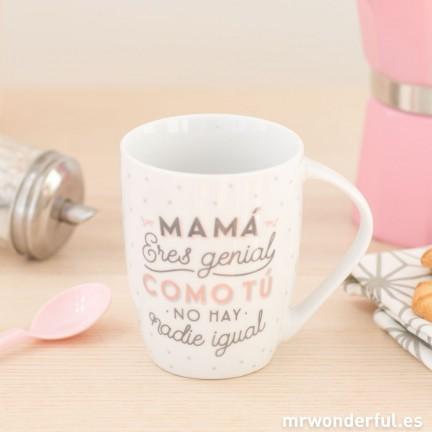 regalos_dia_de_la_madre_taza_mama_eres_genial_como_tu_no_hay_nadie_igual