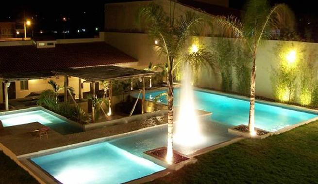 Todav a no tienes piscina decora tu piscina 3dinteriores - Adornos para piscinas ...