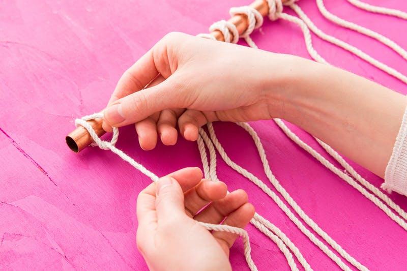 Atar las cuerdas