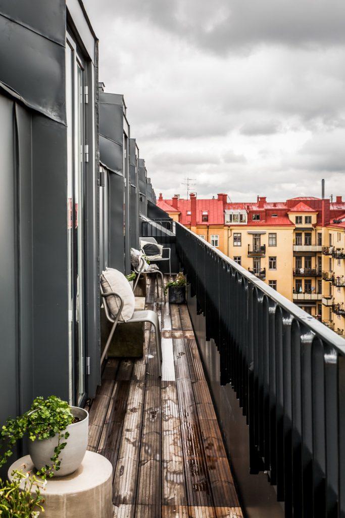 apartamento en girs terraza