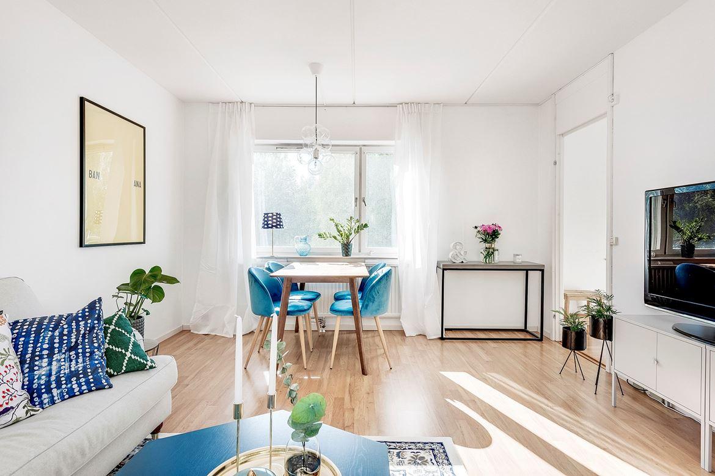 Agradable y pequeño piso de 45m2
