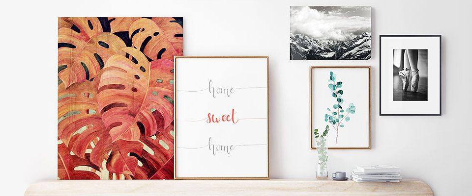 ¿Buscas ideas para decorar tus paredes? Posterlounge es tu solución