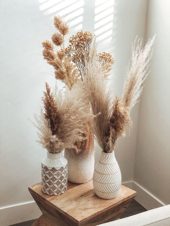 Hojas de la Pampa, ultima tendencia decorativa